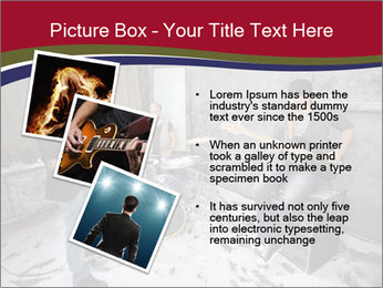 Two guitarists PowerPoint Template - Slide 17
