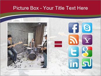 Two guitarists PowerPoint Template - Slide 21