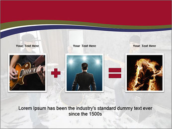 Two guitarists PowerPoint Template - Slide 22