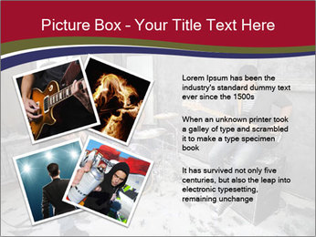 Two guitarists PowerPoint Template - Slide 23