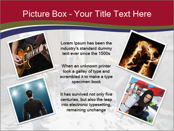 Two guitarists PowerPoint Template - Slide 24
