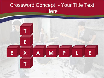 Two guitarists PowerPoint Template - Slide 82