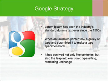 Crossing sunlit street PowerPoint Templates - Slide 10