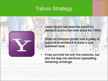 Crossing sunlit street PowerPoint Templates - Slide 11