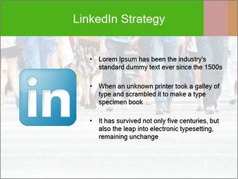 Crossing sunlit street PowerPoint Templates - Slide 12