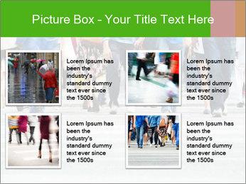 Crossing sunlit street PowerPoint Templates - Slide 14