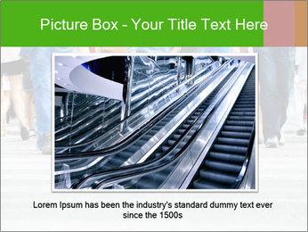 Crossing sunlit street PowerPoint Templates - Slide 16