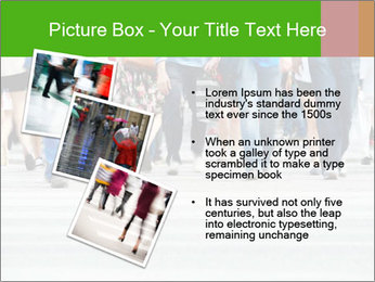 Crossing sunlit street PowerPoint Templates - Slide 17
