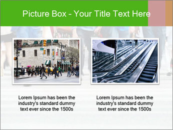 Crossing sunlit street PowerPoint Templates - Slide 18