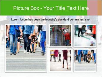 Crossing sunlit street PowerPoint Templates - Slide 19