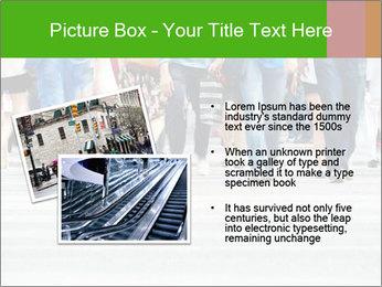 Crossing sunlit street PowerPoint Templates - Slide 20