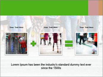 Crossing sunlit street PowerPoint Templates - Slide 22