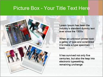 Crossing sunlit street PowerPoint Templates - Slide 23