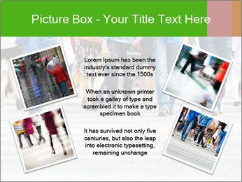 Crossing sunlit street PowerPoint Templates - Slide 24