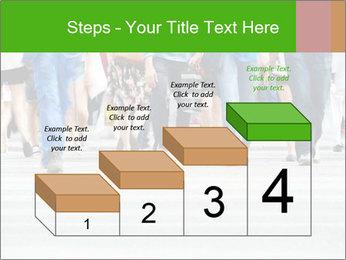 Crossing sunlit street PowerPoint Templates - Slide 64