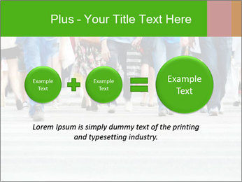 Crossing sunlit street PowerPoint Templates - Slide 75
