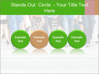 Crossing sunlit street PowerPoint Templates - Slide 76
