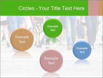 Crossing sunlit street PowerPoint Templates - Slide 77
