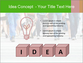 Crossing sunlit street PowerPoint Templates - Slide 80