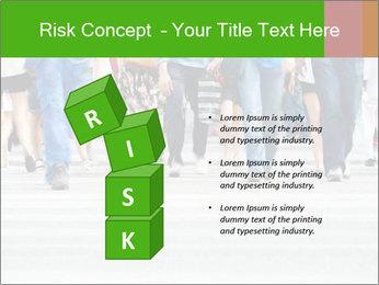Crossing sunlit street PowerPoint Templates - Slide 81