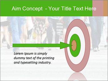 Crossing sunlit street PowerPoint Templates - Slide 83