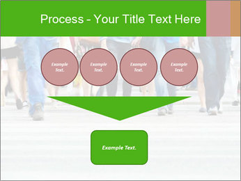 Crossing sunlit street PowerPoint Templates - Slide 93
