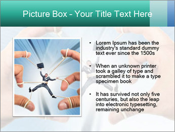 Stressed businessman PowerPoint Template - Slide 13