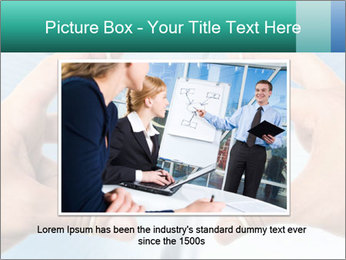 Stressed businessman PowerPoint Template - Slide 15