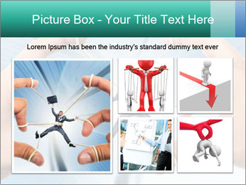 Stressed businessman PowerPoint Template - Slide 19