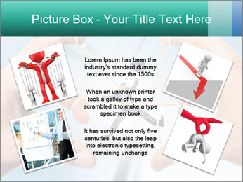 Stressed businessman PowerPoint Template - Slide 24