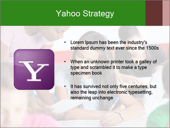 Young teacher assisting PowerPoint Templates - Slide 11