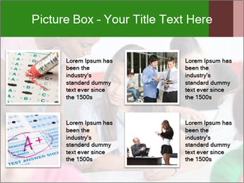 Young teacher assisting PowerPoint Templates - Slide 14