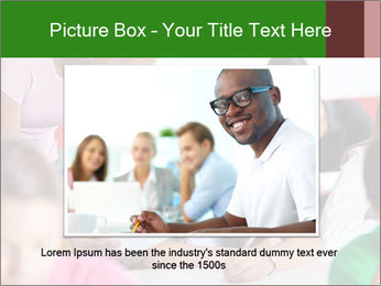 Young teacher assisting PowerPoint Templates - Slide 16