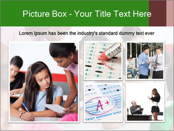 Young teacher assisting PowerPoint Templates - Slide 19