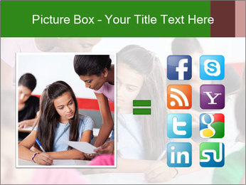 Young teacher assisting PowerPoint Templates - Slide 21