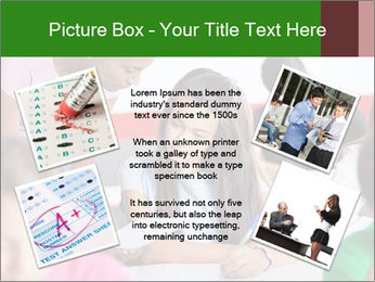 Young teacher assisting PowerPoint Templates - Slide 24