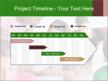 Young teacher assisting PowerPoint Templates - Slide 25