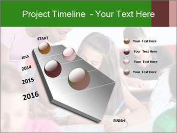 Young teacher assisting PowerPoint Templates - Slide 26
