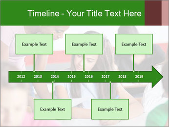 Young teacher assisting PowerPoint Templates - Slide 28