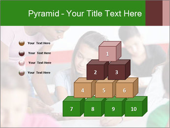 Young teacher assisting PowerPoint Templates - Slide 31