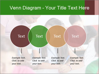 Young teacher assisting PowerPoint Templates - Slide 32