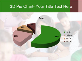 Young teacher assisting PowerPoint Templates - Slide 35