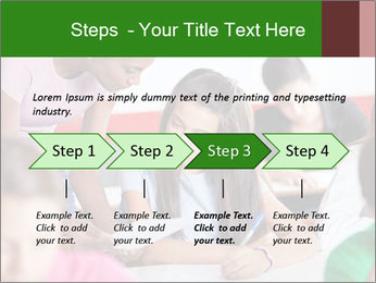 Young teacher assisting PowerPoint Templates - Slide 4