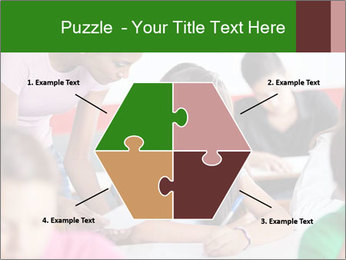 Young teacher assisting PowerPoint Templates - Slide 40