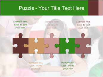 Young teacher assisting PowerPoint Templates - Slide 41