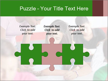 Young teacher assisting PowerPoint Templates - Slide 42