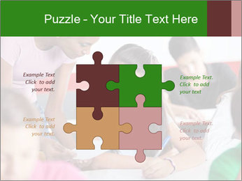 Young teacher assisting PowerPoint Templates - Slide 43