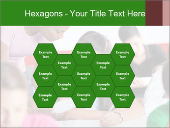 Young teacher assisting PowerPoint Templates - Slide 44