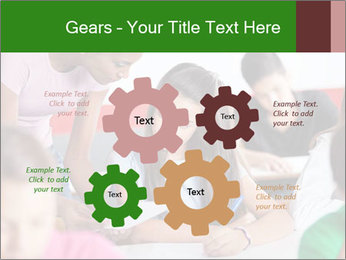 Young teacher assisting PowerPoint Templates - Slide 47