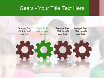 Young teacher assisting PowerPoint Templates - Slide 48